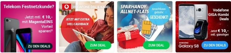 Sparhandy Produkte