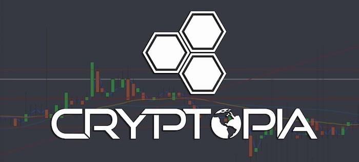 Cryptopia Webseite