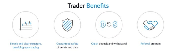 LiveCoin Vorteile