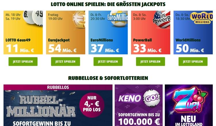 Lottoland Angebot
