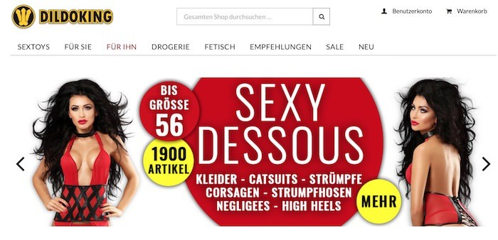 dildoking.de Webseite