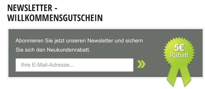 Gartenmoebel.de Newsletter