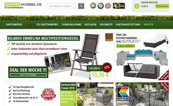 Gartenmoebel.de Webseite