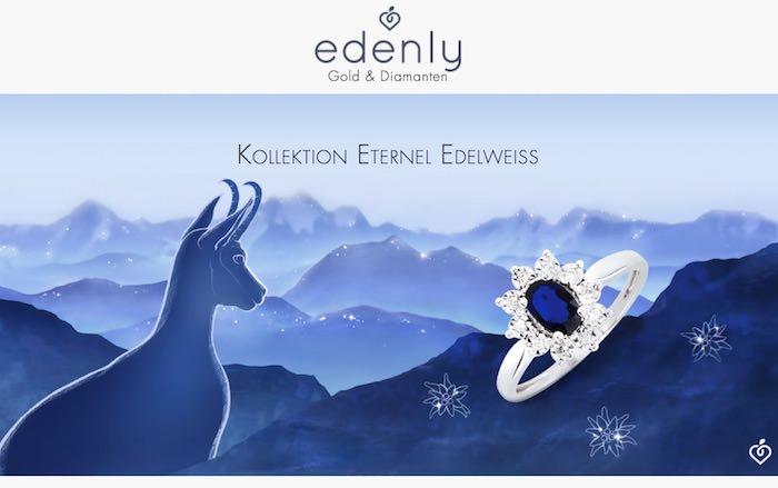 Edenly Webseite