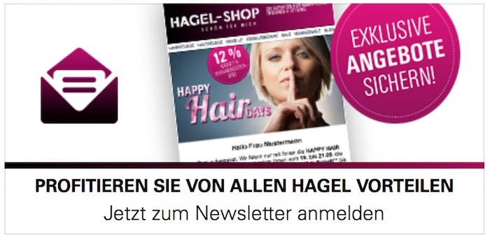 hagel-shop.de Newsletter