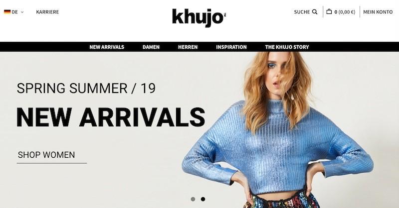 Khujo Webseite
