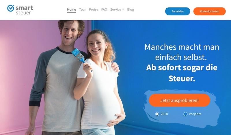 Smartsteuer Webseite