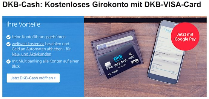 Gratis DKB Konto