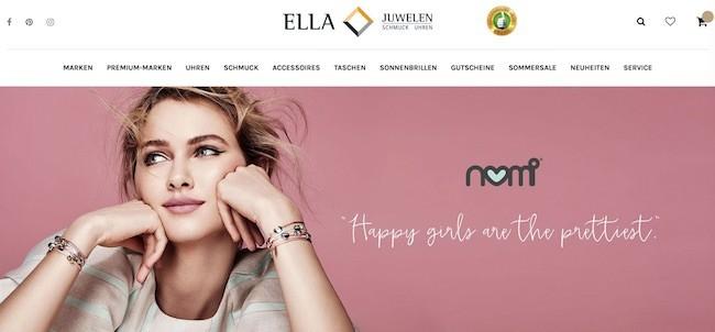 Rabattcode Ella Juwelen