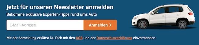 wirkaufendeinauto Newsletter